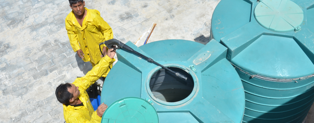 Water Tank Cleaning : Cleaning tanks automation challenges yomken